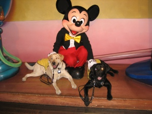 Mickey and the boys